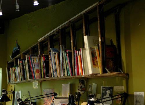 Camino de la librería