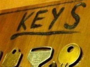 Reutilizando viejas llaves