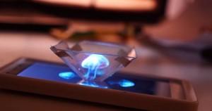 Crea hologramas en 3D con tu teléfono móvil