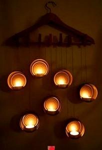Original iluminacion con latas de conserva