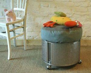 Reciclando un tambor de lavadora